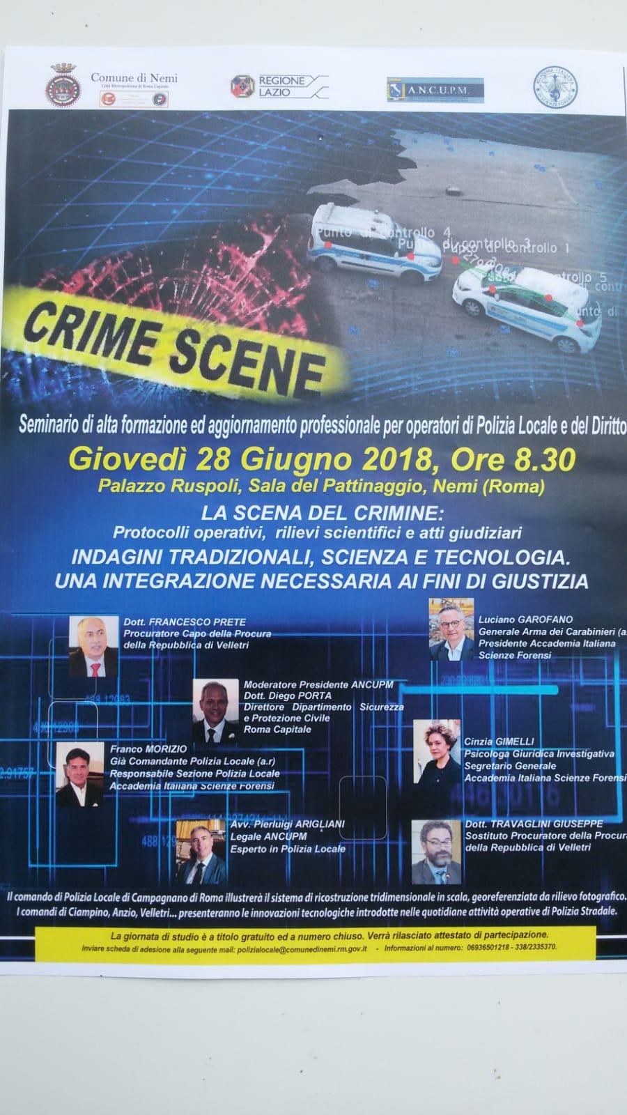 CrimeScene 28giugnio2018