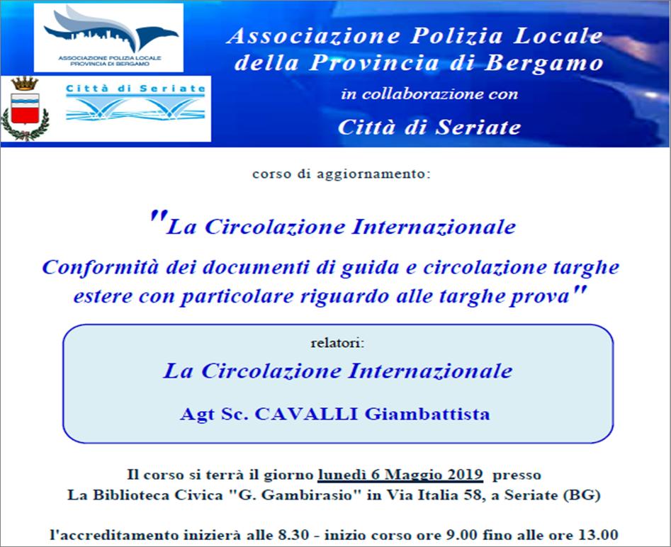 Locandina-Corso-La-circolazione-internazionale-Seriate-6-maggio-2019